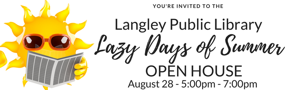 Lazy Day's of Summer Open House