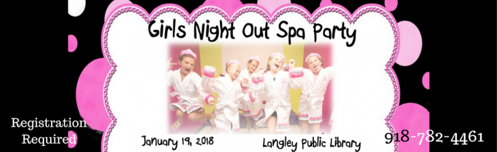 Girls Night Out – Spa Night