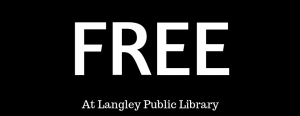 Library Banner that says FREE